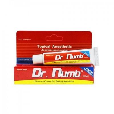 Крем Dr.Numb красный 10 гр