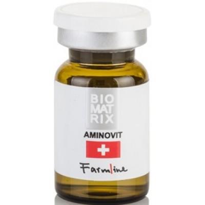 Мезококтейль Восстанавливающий концентрат Аминовит, 6 мл. Biomatrix Farmline Aminovit